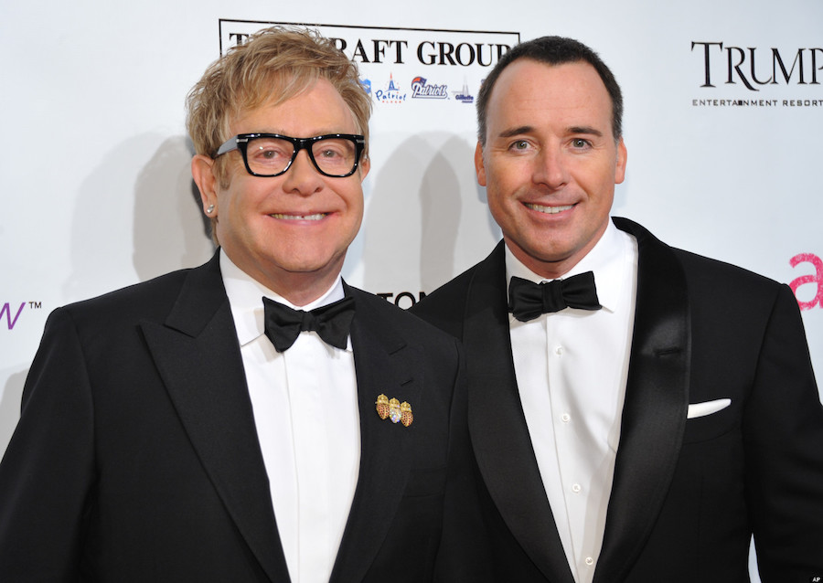 elton john e david furnish sposi