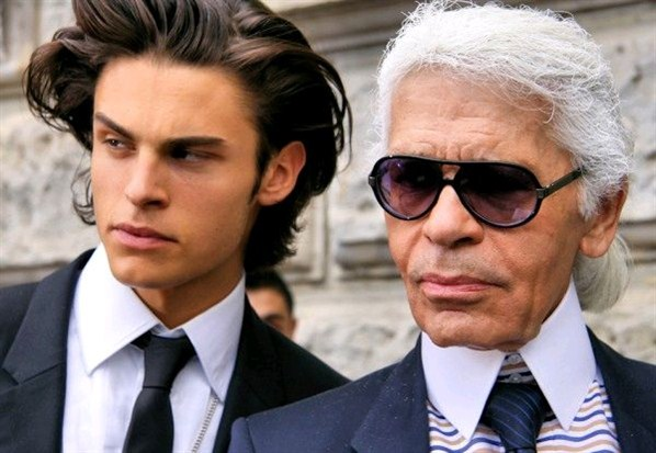karl lagerfeld escort gay
